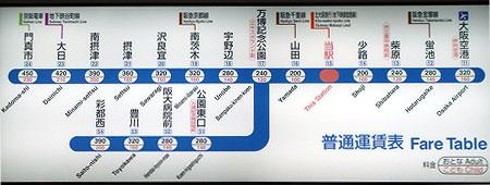 070319_千里中央駅・運賃表