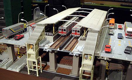 070827_南方駅付近模型