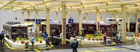 070827_梅田駅模型