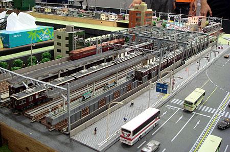 070827_中津駅付近模型