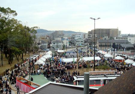 080315_JR島本駅開業記念式典