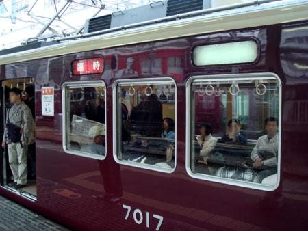 081118_嵐山ゆき臨時直通列車