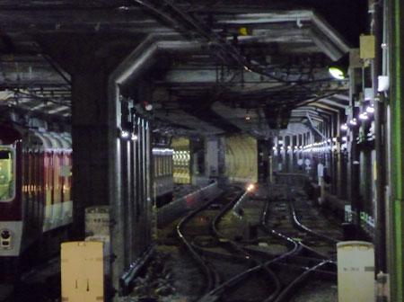 090312_近鉄難波駅・阪神なんば線トンネル