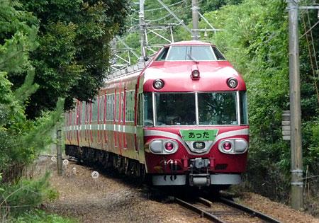 090711_7000系パノラマカー・上野間駅