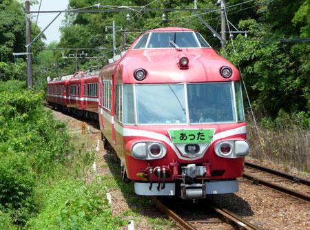 090712_7000系パノラマカー・野間駅