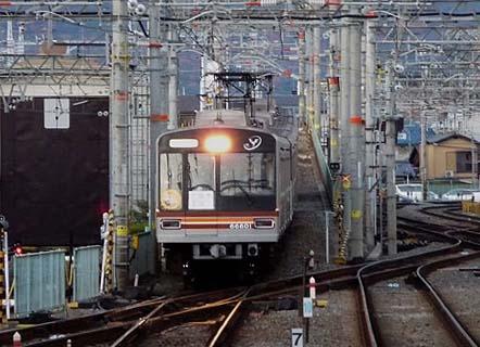 091206_阪急京都線・大阪市営地下鉄堺筋線相互直通40周年記念 臨時直通列車 ・桂駅