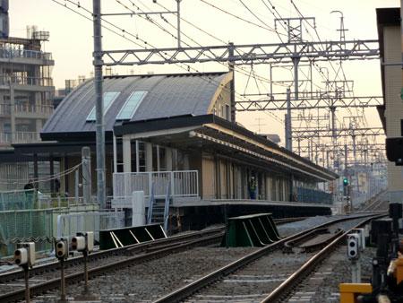 100208_摂津市駅工事