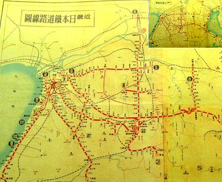 100921_近鉄100年のあゆみ展・路線図
