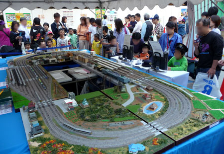 111016_駅祭ティング2011 in OCAT・鉄道模型