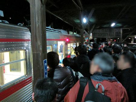 120331_長野電鉄屋代駅・定期最終列車
