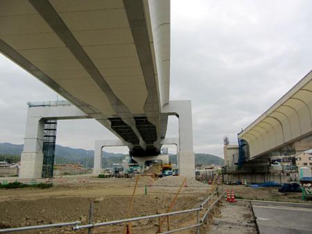 120501_京都第二外環状道路(にそと・京都縦貫自動車道) 建設現場