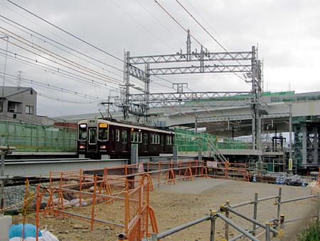 120501_阪急西山天王山駅 建設現場