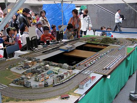 121014_駅祭ティング2012 in OCAT・鉄道模型運転コーナー