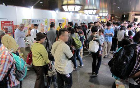 121014_駅祭ティング2012 in OCAT・鉄道グッズ販売コーナー