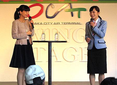 141019_駅祭ティング2014 in OCAT・斉藤雪乃・生田展子