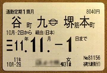 180512_大阪地下鉄・定期券