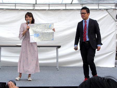 191020_駅祭ティング2019 in 天王寺公園・久野知美・南田裕介