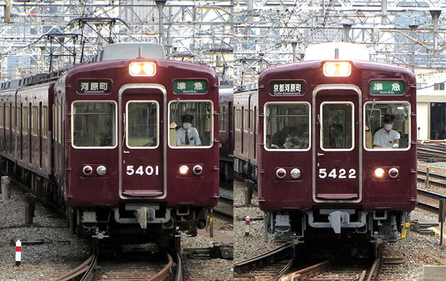 200508_阪急5300系・十三駅